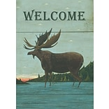 LANG Moose Lodge 12 x 18 Mini Garden Flag (1700026)