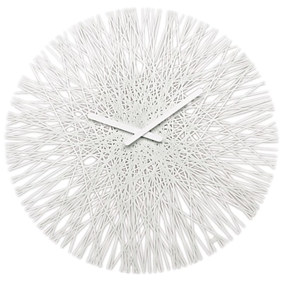 Koziol Silk 18 White Clock (2328525)