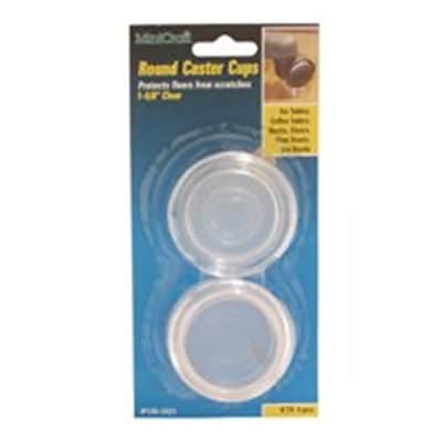 MintCraft Round Clear Caster Cup; 1.63in (ORGL36046)