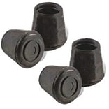 MintCraft 0.62in Black Rubber Leg Tip