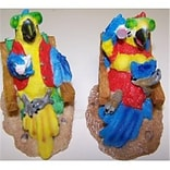Goldfarb-Fisher Parrots on Resin Chair 4pk