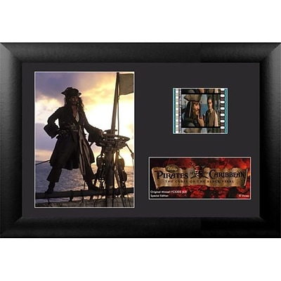 Film Cells Pirates of the Caribbean Curse of the Black Pearl; S2, Minicell, 7x5, Framed (FLMC678)