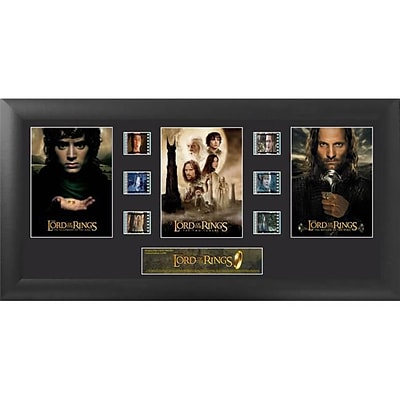 Film Cells Lord of the Rings; S1, Trilogy, 20W x 11H, Framed (FLMC836)