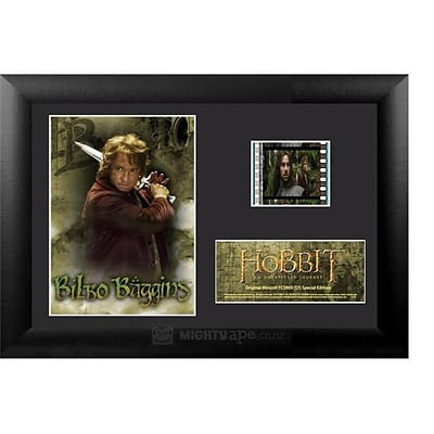 Film Cells Hobbit An Unexpected Journey; S7, Minicell, 7 x 5, Black MDF Frame (FLMC722)