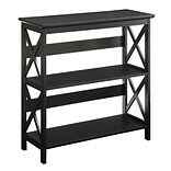 CConcepts Oxford 3 Tier Bookcase Blk Finish