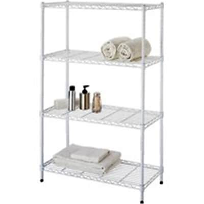 HOMEBASIX Tier Shelf; 14 x 13 x 32, White (ORGL48047)