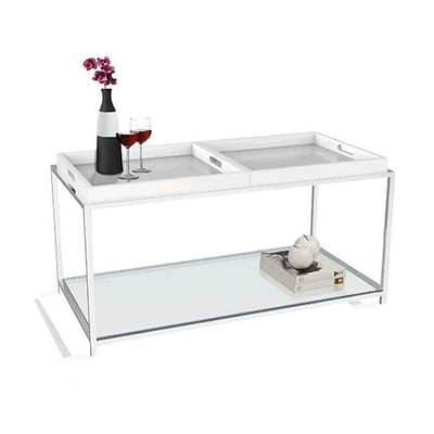 Convenience Concepts Palm Beach Coffee Table White (CCL358)