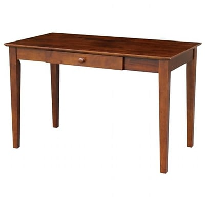 International Concepts OF581; 41 Writing desk with drawer Espresso