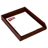 Dacasso Leather Front-Load Letter Tray