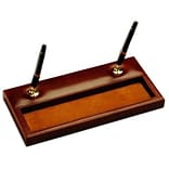 Dacasso A3004 Leather Double Pen Stand
