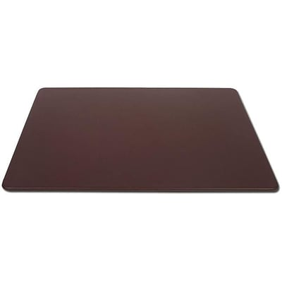 Dacasso 38 x 24 Desk Pad without Side Rails; Leather, Chocolate Brown (DCSS171)