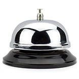 Brybelly 10cm Chrm Service Bell w/Blk Base
