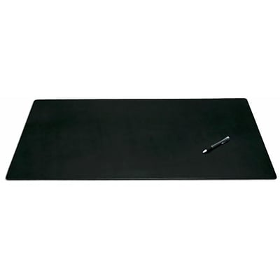 Dacasso 34 x 20 Desk Pad without Side Rails; Leather (DCSS070)