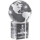 Chass Illusion Globe Base Paperweight CH376