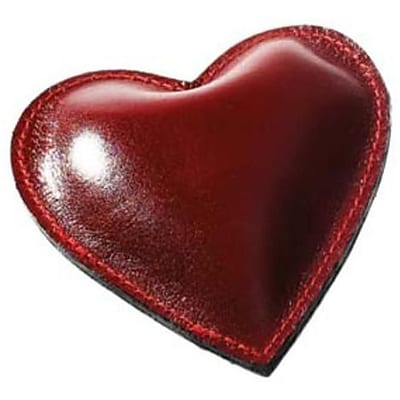 Raika RM 160 RED Heart Paperweight ; Red