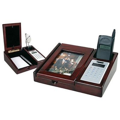 Chass 73018 Desk Organizer with Calculator