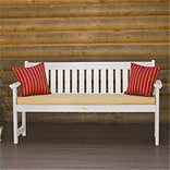 Highwood Bench Recycled Synth Wood, White