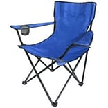 MintCraft Blue Camping Chair with Bag