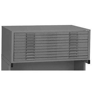 Alvin 7979CG Ten;Drawer File in Grey