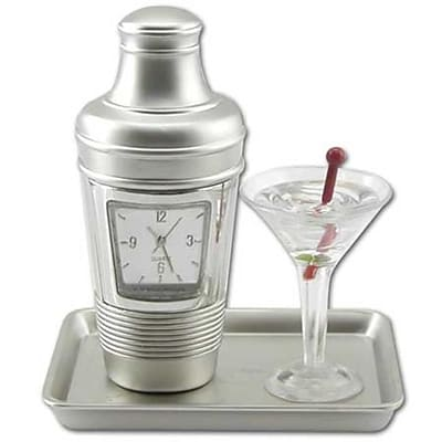 Ruda Overseas Cocktail Clock (RDOV061)