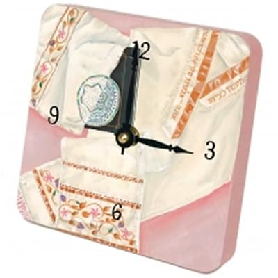 Lexington Studios 23059TT Her Tallit Tiny Times Clock