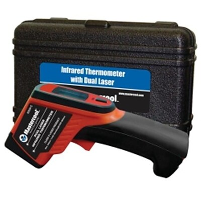 Mastercool Dual Laser Infrared Thermometer; 8.25L x 6W x 2.75H (ISN7446)