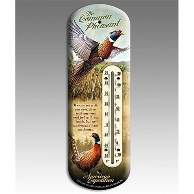 American Expedition Back Porch Thermometer; Pheasant (IDMN621)