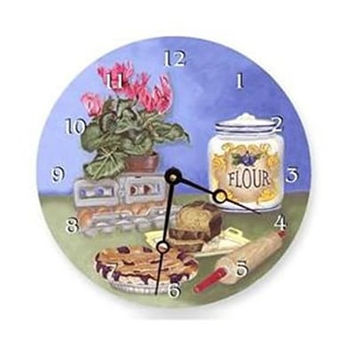 Lexington Studios 23084 ; LR Bakers 18 in. Round Clock