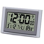 Atomic Clock w/2 Numbers & Temperature