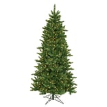 Northlight 6.5 Eastern Pine Slim Artificial Christmas Tree with 300 Clear Lights