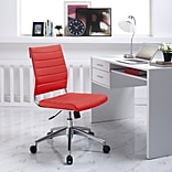 Modway Jive Mid-Back Task Chair; Red
