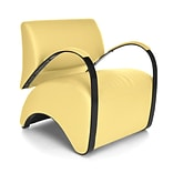 OFM Recoil Vinyl Lounge Chair; Yellow