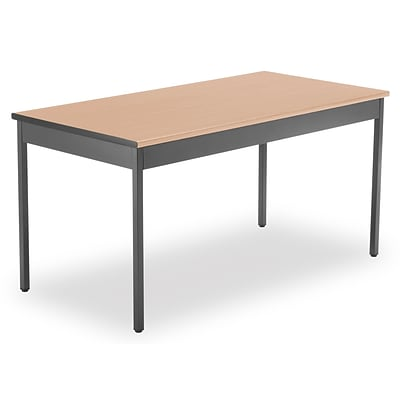 OFM 60 x 30 Utility Table, Maple (UT3060-MPL)