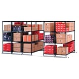 X5 Lite Five FourShelf Units 36x24 Blk