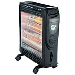 OptimusQuartz Convection Radiant Heater Bk