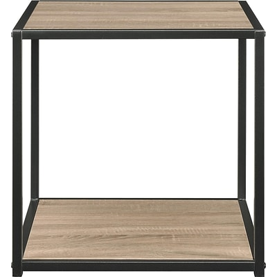 Altra™ End Table with Metal Frame, Sonoma Oak (5071096PCOM)