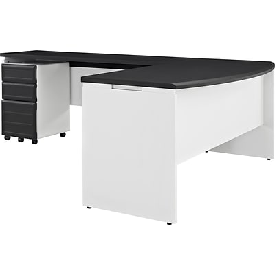 Altra™ Pursuit Small Office Set, White/Gray
