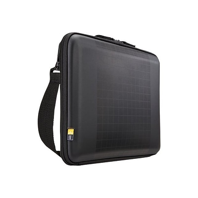 Case Logic® Arca Black Polyester 10.1 to 12 Chromebook/Ultrabooks Carrying Case (ARC111BLACK)