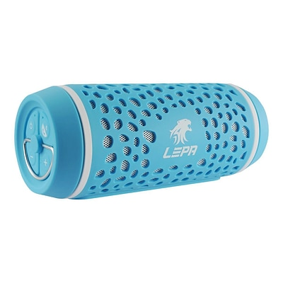 LEPA Bluetooth 4.0 Speaker with NFC Function BTS02; Water-Resistant, Blue