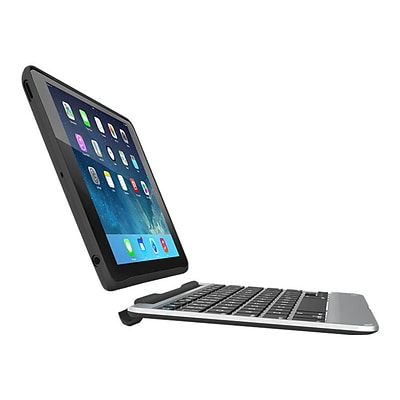 Zagg ID7ZF2-BB0 Slim Book Wireless and Backlit Keyboard And Folio Case for Apple 12.9 iPad Pro; Black