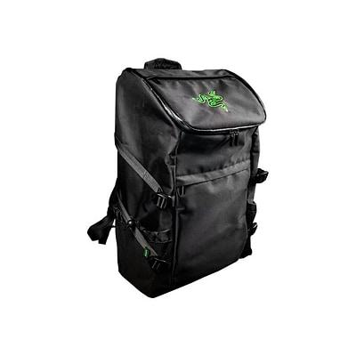 Razer™ Utility Black Nylon 17 Notebook Backpack (RC21-00730101-0000)