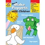 How to Make Puppets w Children Grs 1-6(762)