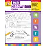 Evan Moor Educational Publishers Daily Handwriting Practice: Traditional Manuscript for K-6 (790)
