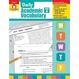 Evan-Moor Educational Publishers Daily Academic Vocabulary for Grade 4; Each (2760)