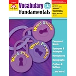 Evan-Moor Educational Publishers Vocabulary Fundamentals for Grade 2 (2802)
