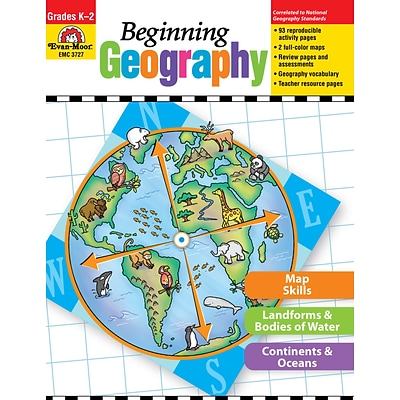Evan-Moor Educational Publishers Beginning Geography Grades K-2 Ed. 1 (3727)