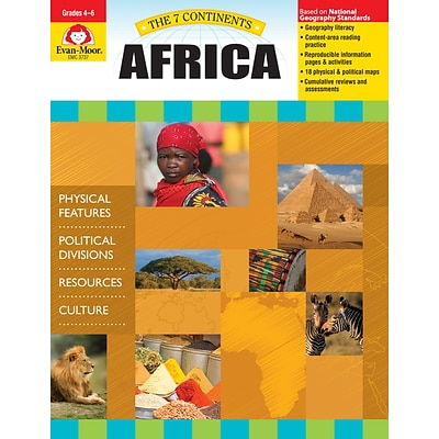 Evan-Moor Educational Publishers 7 Continents: Africa Grades 4-6+ Edition 1 (3737)