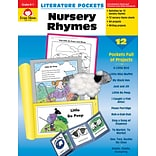 Evan-Moor Educational Publishers Literature Pockets: Nursey Rhymes Grades K-1 Ed. 1 Paperback (2700)