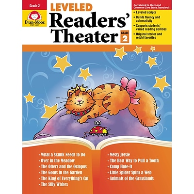 Evan-Moor Educational Publishers Leveled Readers Theater for Grade 2 (3482)