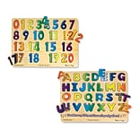 Numbers & Alphabet Sound Puzzle 13.5x10x2.2